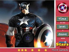 Captain America Hidden Stars
