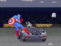 Captain America : Car Demolition