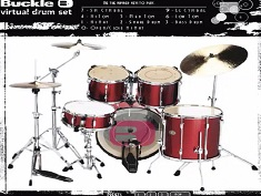 Buckle Virtual Drum Set