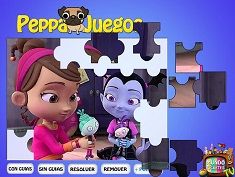 Puzzle Vampirina Playing