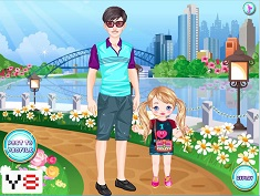 Fathers Day Matching Outfits Juego Online En Juegosjuegos