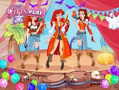 Pirate Princess Halloween Dress Up