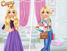 Princesses Elegant vs Casual