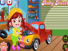 Baby Hazel As Mechanic Dressup