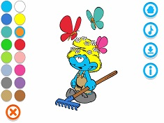 Smurfy Coloring