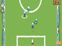 The Smurfs Football Match