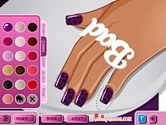 Rihanna Top Nails