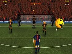 Messi Halloween Shootout