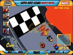 Super Hero Racers