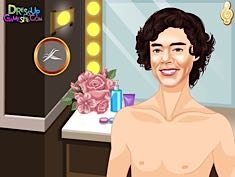 Harry Styles Facial