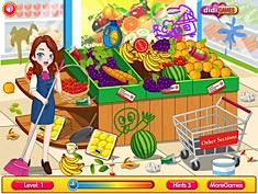 Cleaning Time Supermarket