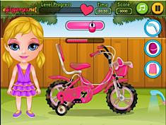 Baby Barbie Bicycle