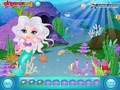 Baby Barbie Mermaid Lands