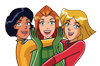 Totally Spies Spill spill